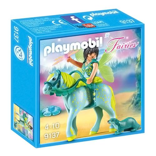 Vodní víla a kůň Aqurius Playmobil Víly a jednorožci, 11 dílků