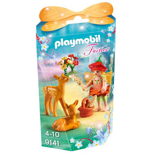 Víla a její přátelé srna a koloušek Playmobil Víly a jednorožci, 25 dílků