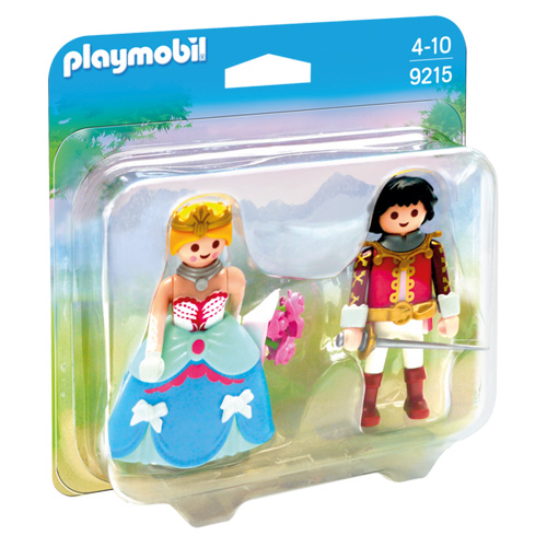 Duo Pack Princ a princezna Playmobil Zámek, 21 dílků