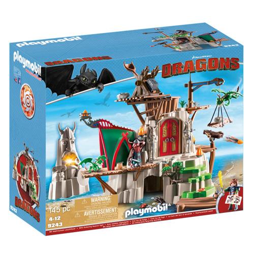 Ostrov Blp Playmobil Jak vycvičit draka, 145 dílků