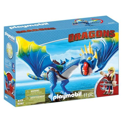 Astrid a Buřina Playmobil Jak vycvičit draka, 11 dílků