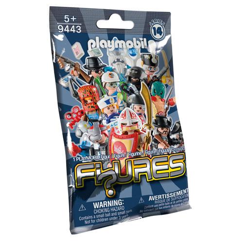 Překvapení pro kluky Playmobil Fi?ures Série 14 - kompletní panáček