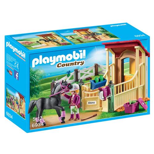 Box pro Arabského koně Playmobil Jezdecký dvůr, 50 dílků
