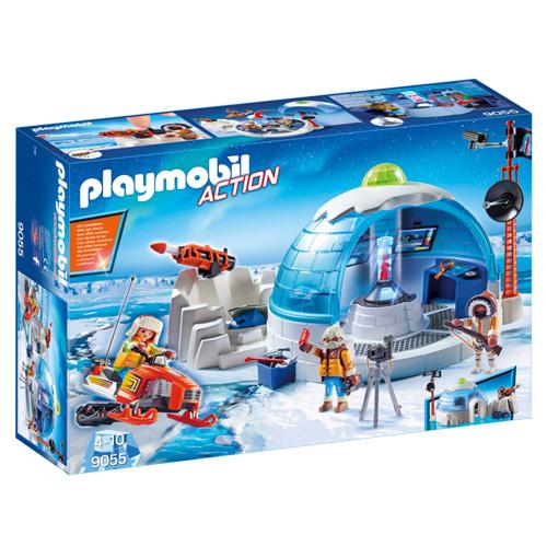 Obydlí polární expedice Playmobil Polární expedice, 85 dílků