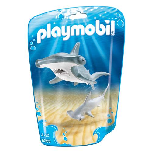 Žralok s mládětem Playmobil Mořské akvárium, 2 dílky