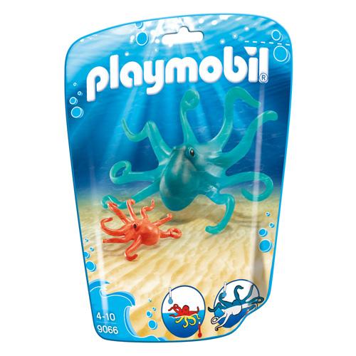 Chobotnice s mládětem Playmobil Mořské akvárium, 2 dílky
