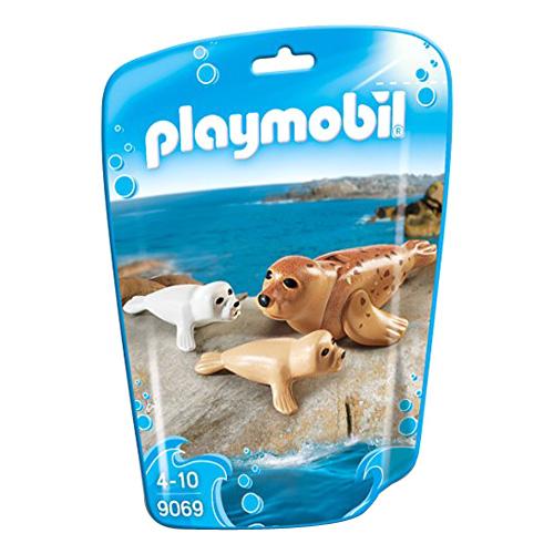 Tuleň s mláďaty Playmobil Mořské akvárium, 3 dílky