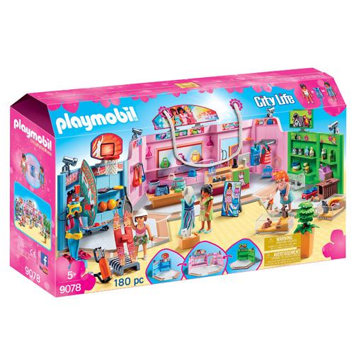 Nákupní centrum Playmobil Obchodní centrum, 180 dílků