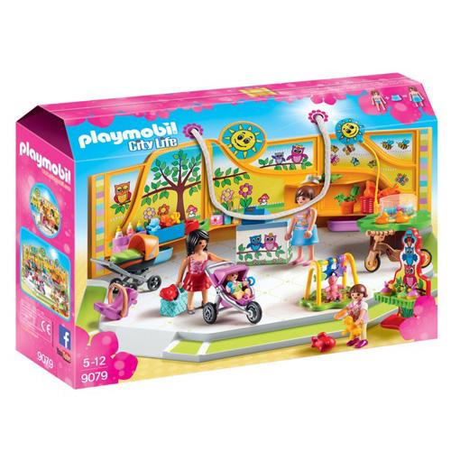 Dětský obchod Playmobil Obchodní centrum, 95 dílků