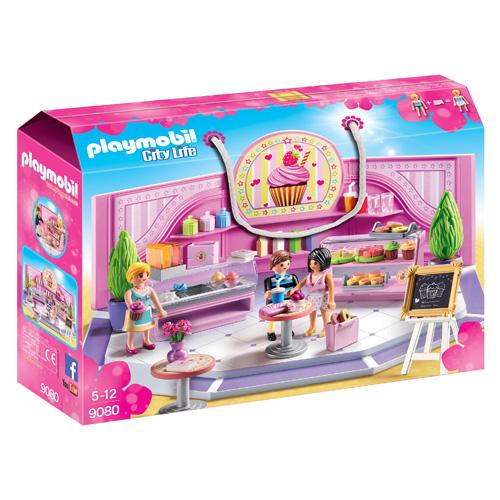 Kavárna Cupcake Playmobil Obchodní centrum, 50 dílků