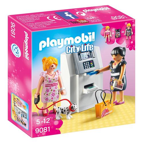 Bankomat Playmobil Obchodní centrum, 22 dílků