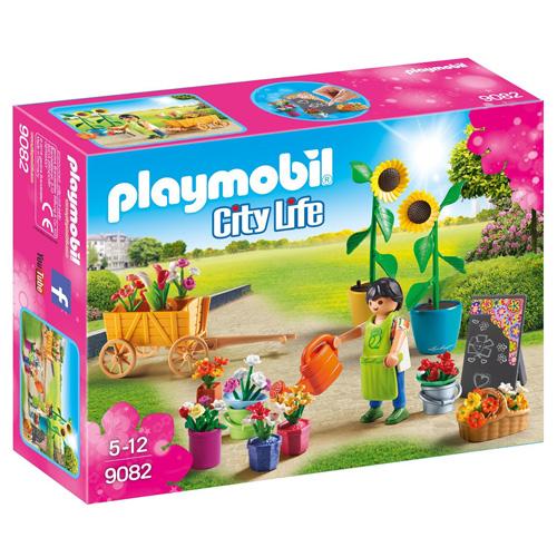 Zahradnictví Playmobil Obchodní centrum, 50 dílků