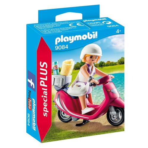 Dívka na pláži se skútrem Playmobil Prázdniny, 10 dílků