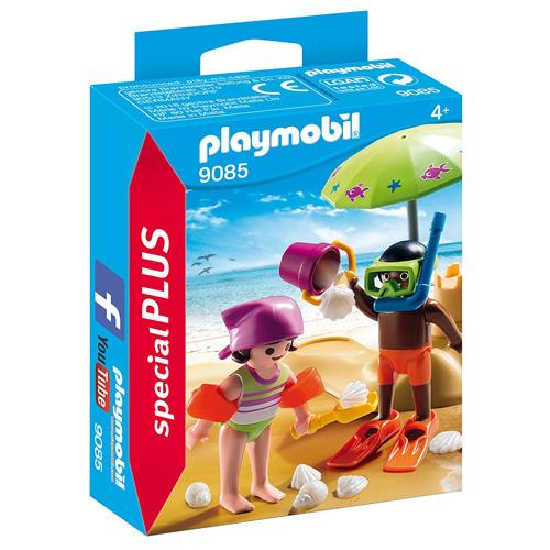Děti na pláži Playmobil Prázdniny, 25 dílků