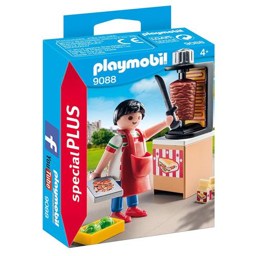 Prodavač kebabu Playmobil Život ve městě, 15 dílků
