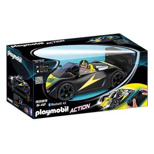 RC Turbo Racer Playmobil Svět motorů, černé