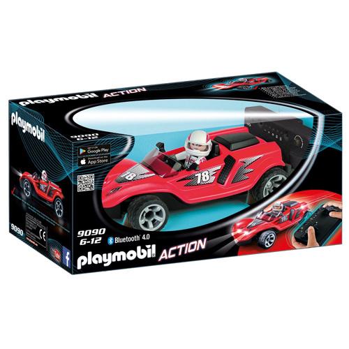 RC Rocket Racer Playmobil Svět motorů, červené
