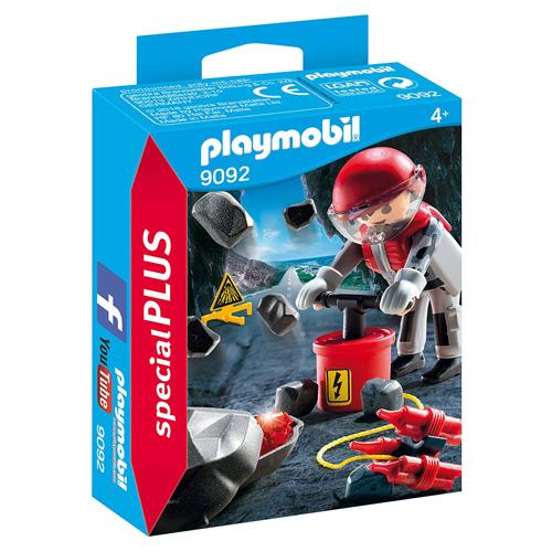 Odstřelovač skály Playmobil Život ve městě, 20 dílků
