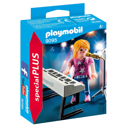 Zpěvačka u klavíru Playmobil Život ve městě, 12 dílků