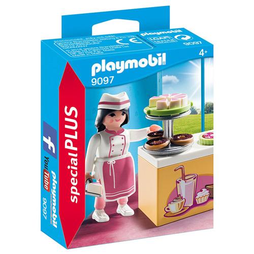Cukrářka s kuchyňkou Playmobil Život ve městě, 15 dílků