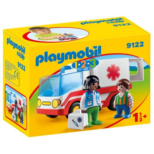 Záchranka Playmobil 1.2.3, 10 dílků