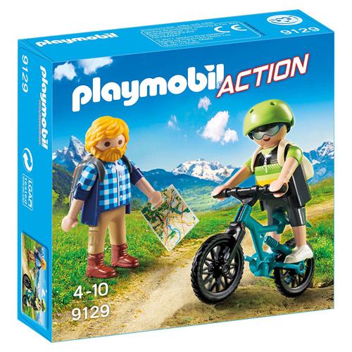 Milovníci hor Playmobil Prázdniny, 10 dílků