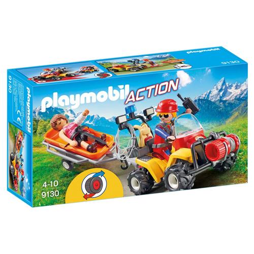 Playmobil Čtyřkolka záchranářů Záchranáři, 30 dílků