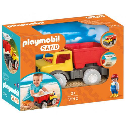 Sklápěč Playmobil Pískoviště, 6 dílky