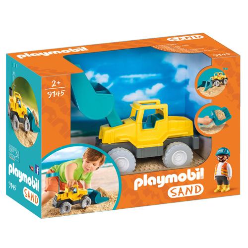 Bagr Playmobil Pískoviště, 4 dílky