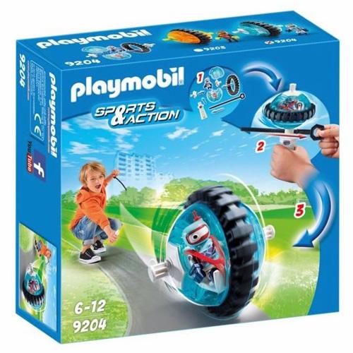 Modrý Speed Roller Playmobil Sport a akce, 10 dílků