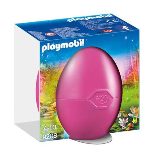 Víly s drahokamy Playmobil Růžové vajíčko, 15 dílků