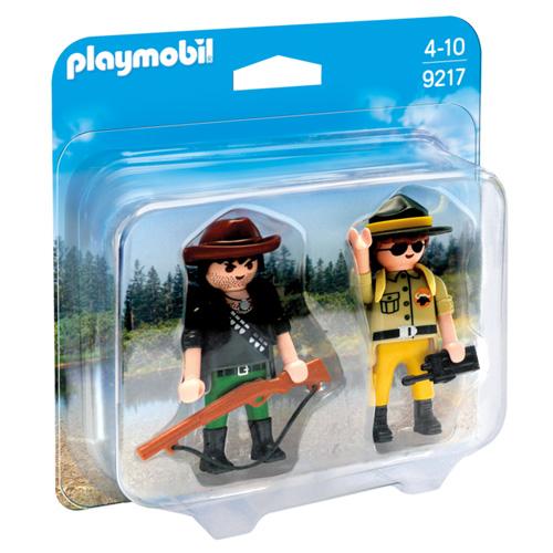 Playmobil Duo Pack Správce parku a pytlák Dobrodružství v přírodě, 10 dílků