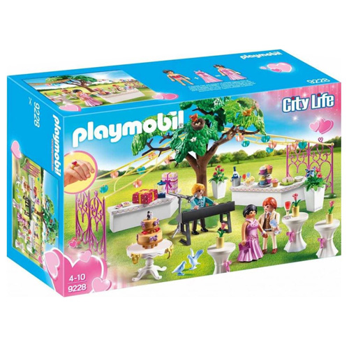 Svatební párty Playmobil Svatba, 193 dílků