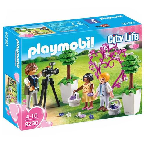 Svatební fotograf Playmobil Svatba, 61 dílků