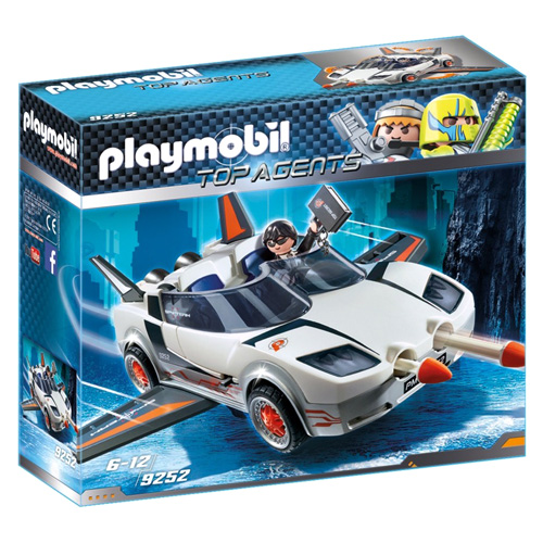 Agent P.´s Spy Racer Playmobil TOP agenti, 50 dílků