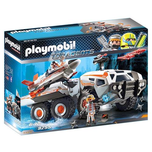Špionážní bojový vůz Playmobil TOP agenti, 150 dílků