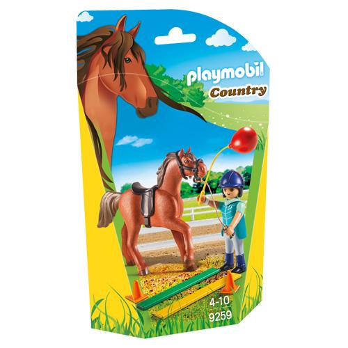 Koňský terapeut Playmobil Jezdecký dvůr, 5 dílků