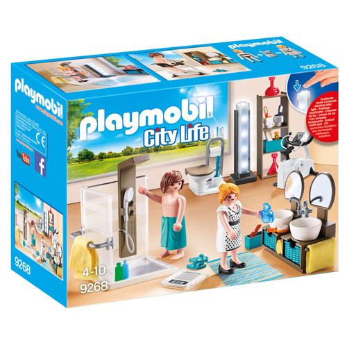 Koupelna Playmobil Moderní dům, 30 dílků