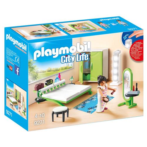 Ložnice Playmobil Moderní dům, 24 dílků