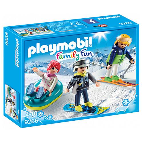 Zimní sportovci Playmobil Zimní sporty, 15 dílků