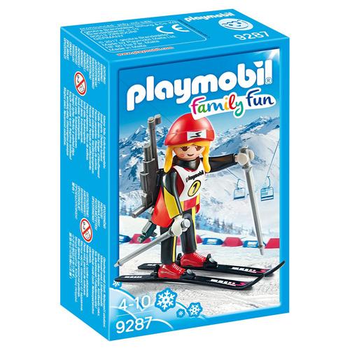Biatlonistka Playmobil Zimní sporty, 8 dílků