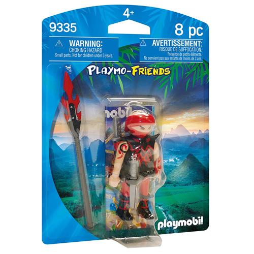 Ninja bojovník Playmobil Rytíři a barbaři, 8 dílků