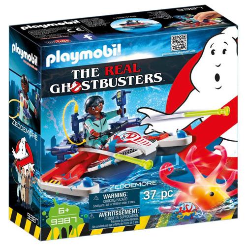 Zeddemore a vodní skútr Playmobil Krotitelé duchů, 37 dílků