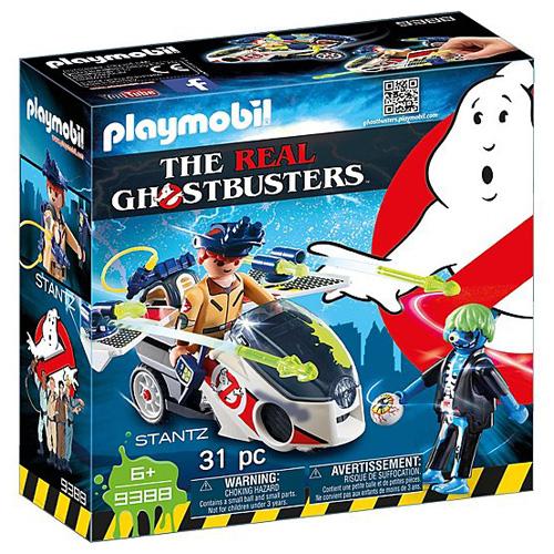 Stantz a Skybike Playmobil Krotitelé duchů, 31 dílků