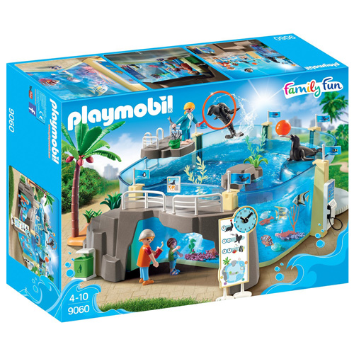 Mořské akvárium Playmobil Mořské akvárium, 112 dílků
