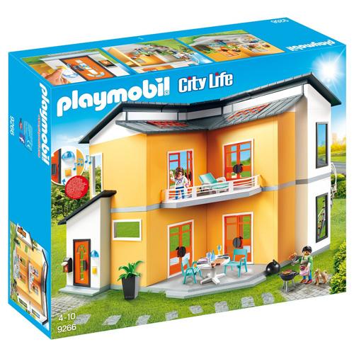 Moderní obytný dům Playmobil Moderní dům