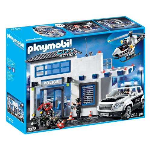 Policejní stanice Playmobil Policie, 201 dílků