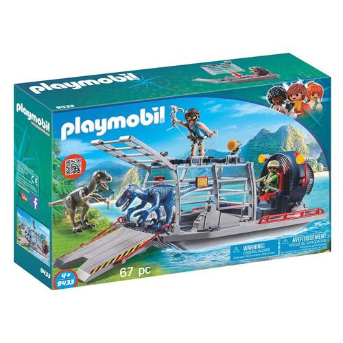 Vznášedlo s klecí na dinosaury Playmobil Dinosauři, 67 dílků