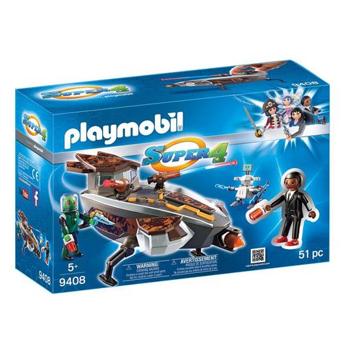 Vesmírná loď Sykroňanů a Gene Playmobil Super 4, 51 dílků