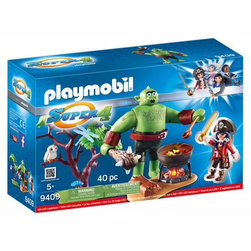 Obr zlobr a Ruby Playmobil Super 4, 40 dílků